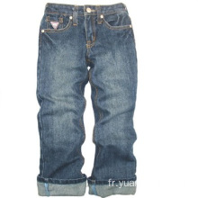 Enfants Jeans 100% Coton Long Pantalon Indigo